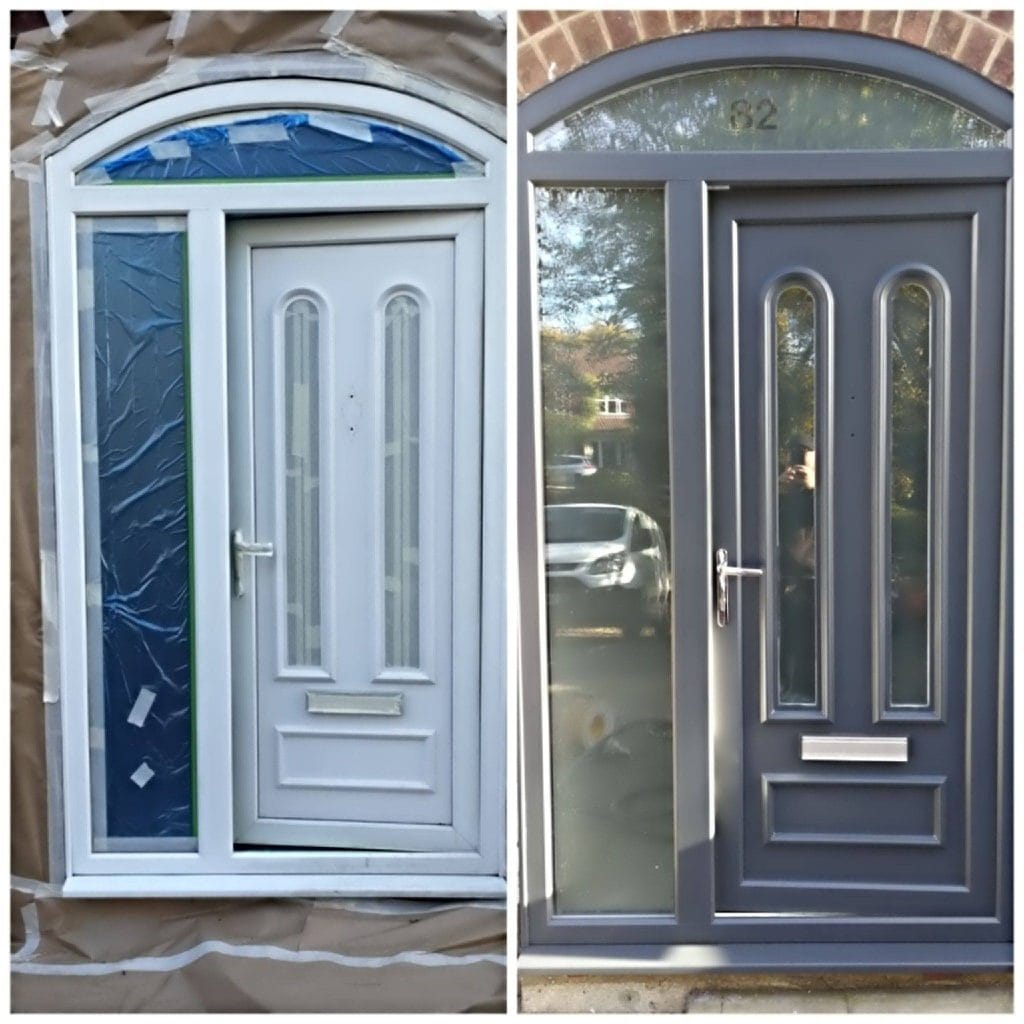 Can You Paint Upvc Doors >> uPVC Spraying Costs - SprayMasters For uPVC Paints that last Spraymasters UK