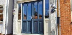 composite door respray cost