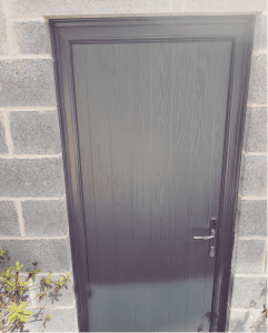 Composite Door respray