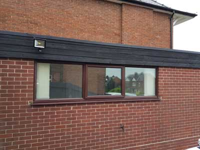 Can You Paint Brown Upvc Windows White