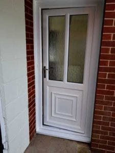 Spraying uPVC
