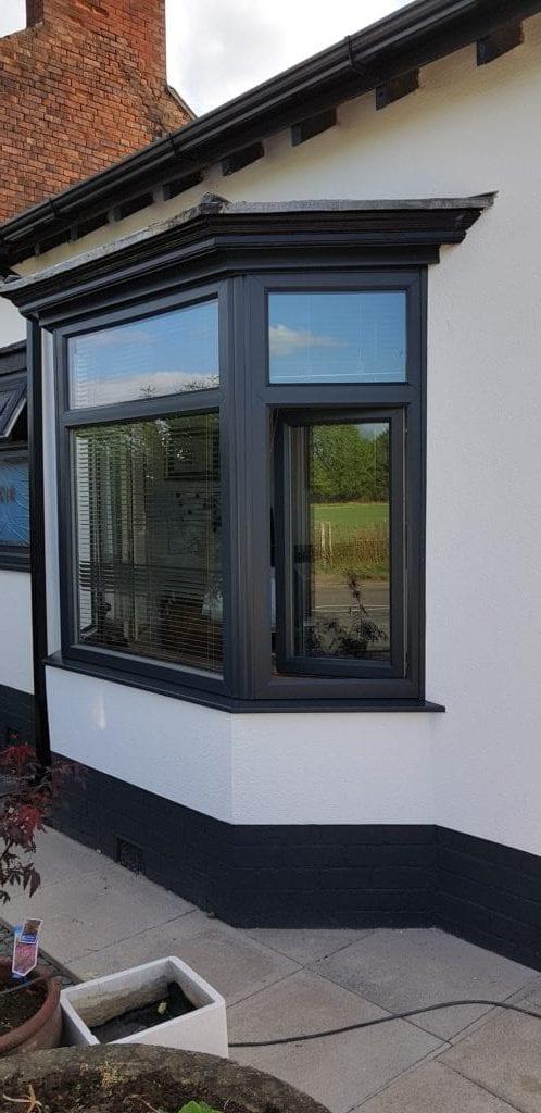 upvc window spraying nottingham