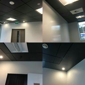 Ceiling blackouts