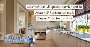 Kitchen Cabinet Spraying Cost