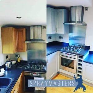 Kitchen-Spraying-Nottingham