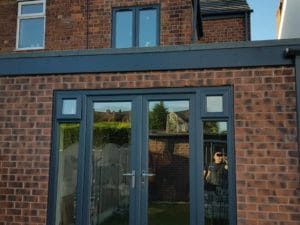 upvc window spraying Chesterfield