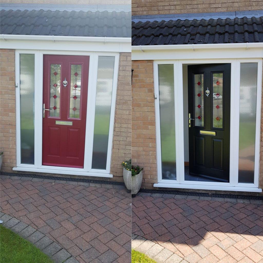 Can You Paint Upvc Doors >> uPVC Windows Painted, Revive Those UPVC windows Spraymasters UK