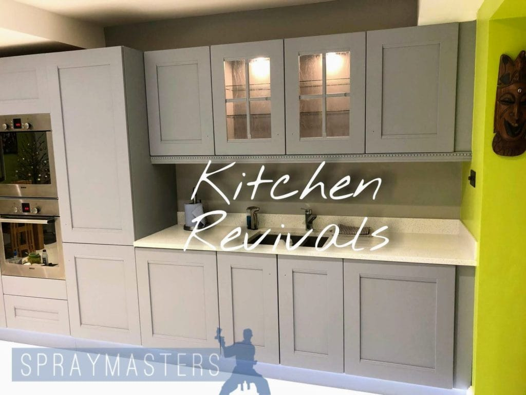 Spraying Kitchen Cabinets Professional Spray Painting