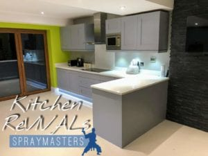 Kitchen spraying derbyshire