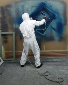 upvc spray training