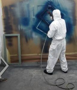 upvc spraying course