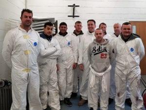 upvc paint spraying course Nottingham