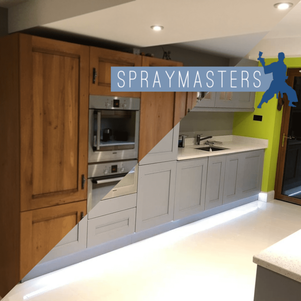 Finishes For Kitchen Cabinets: Spraying Kitchen Cabinets