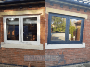 spray paint upvc windows cost