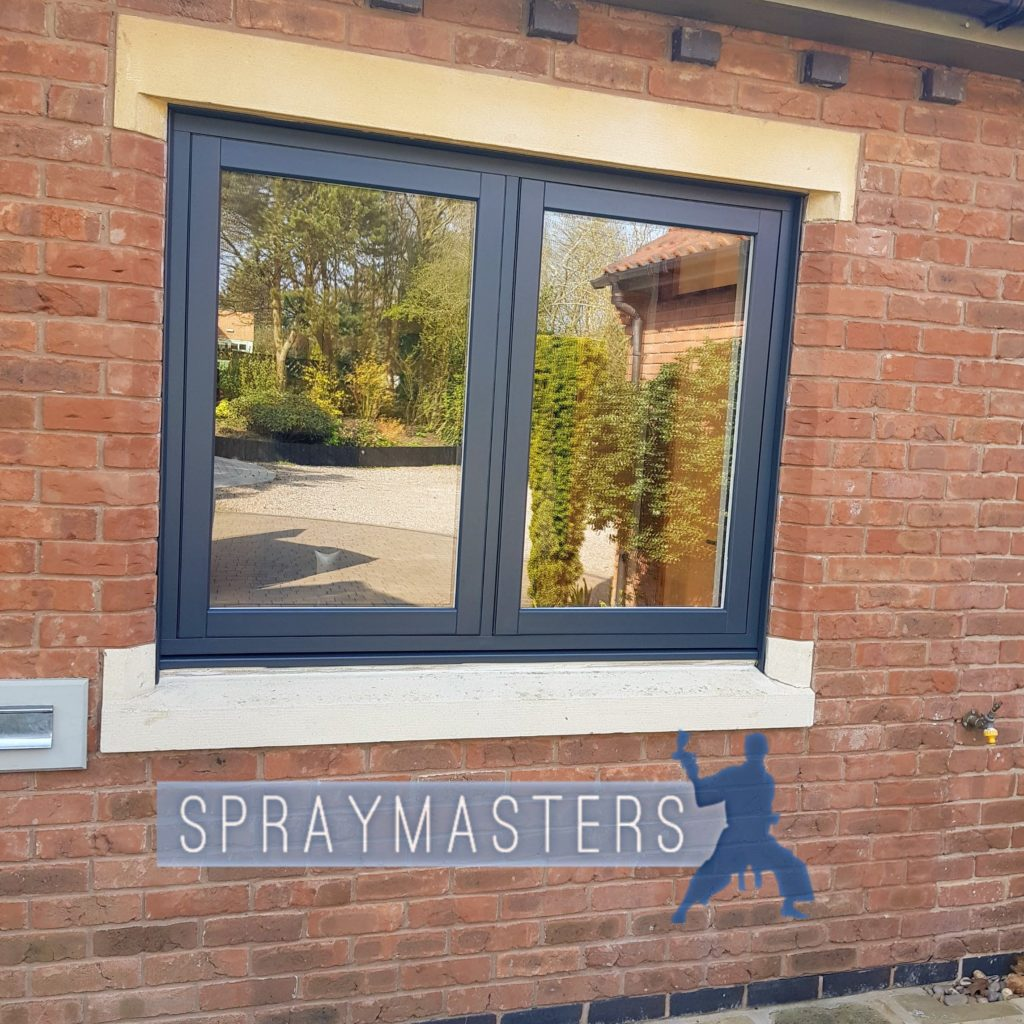 online store e1cf8 43bb0 uPVC Window Spraying Loughborough - Spraymasters UK ...