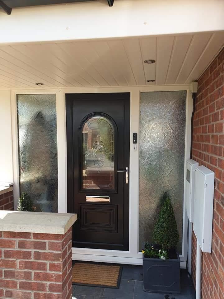 Composite Doors Upvc Front Doors Sprayed To Perfection