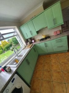 Spray Paint Kitchen Cabinets Derbyshire