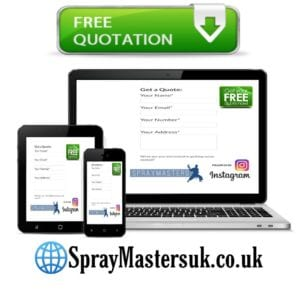 Get a quote from spraymasters uk