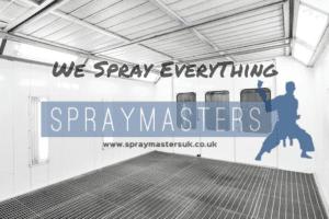 spray painting everything