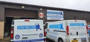 spraymasters uk