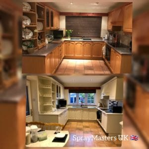 Kitchen Cabinet Paint Spraying Cost