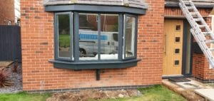 upvc window paint spraying cost