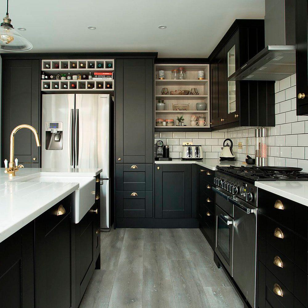 stiff key blue kitchen